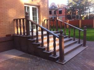 лестница из гранита